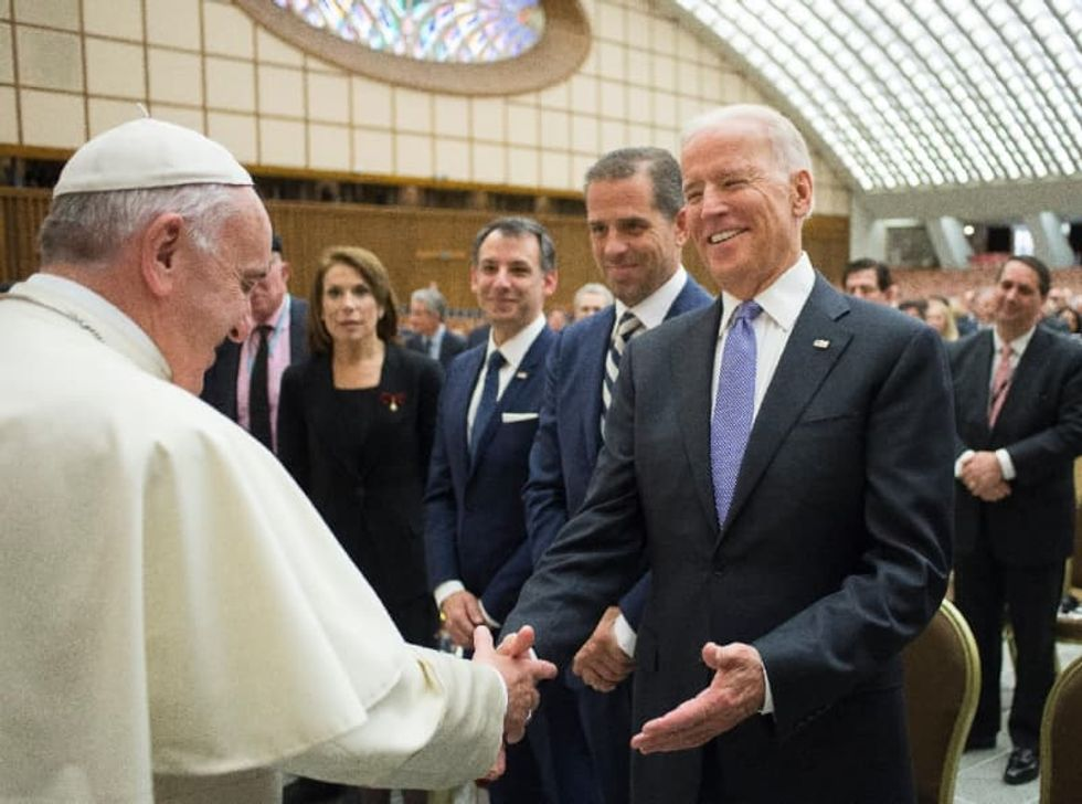 A practicing Catholic, Biden hopes to peel believers away from Trump