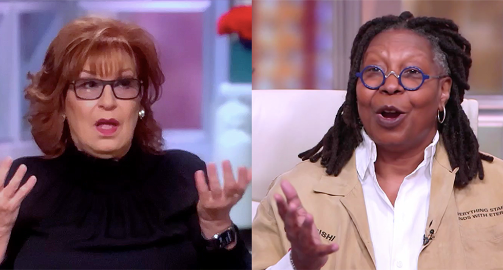 'He's so jealous of Fauci he can hardly speak': The View hosts mock Trump for his sad desperation