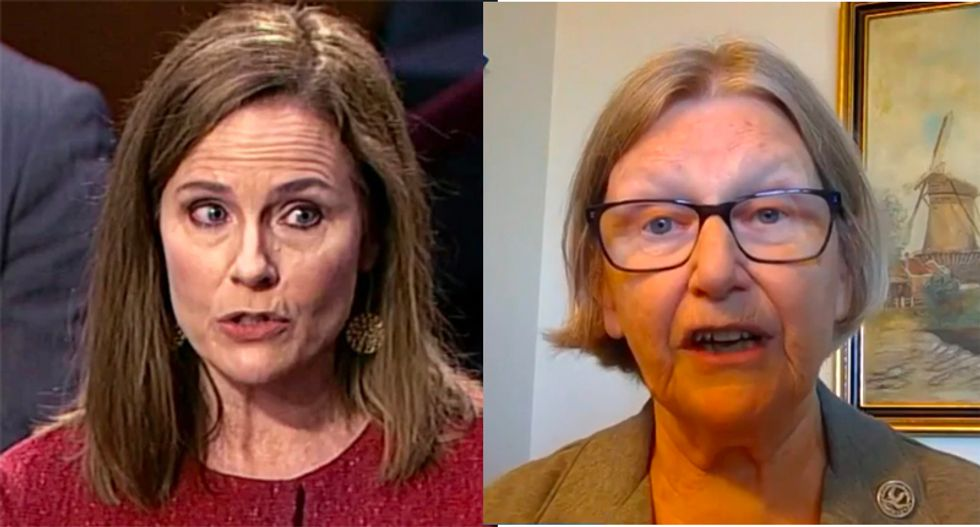 Catholic nun lowers the boom on Amy Coney Barrett for wanting to take women 'back to 1789'