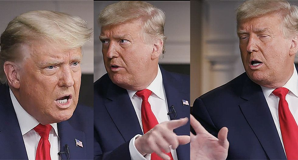 Here are the questions that caused Trump to walk out of his '60 Minutes' interview with Lesley Stahl