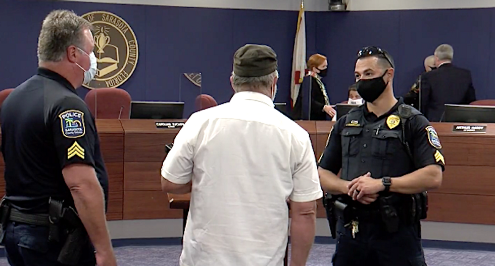 'Tyranny in Sarasota County!' Florida parents flip out over school mask mandate