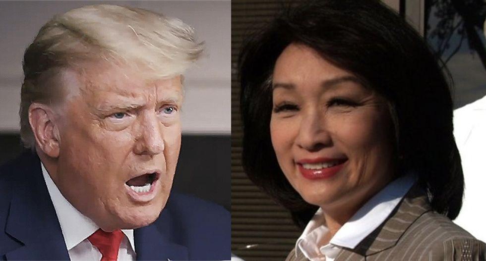 Veteran reporter Connie Chung recalls her Trump interview that left him stammering