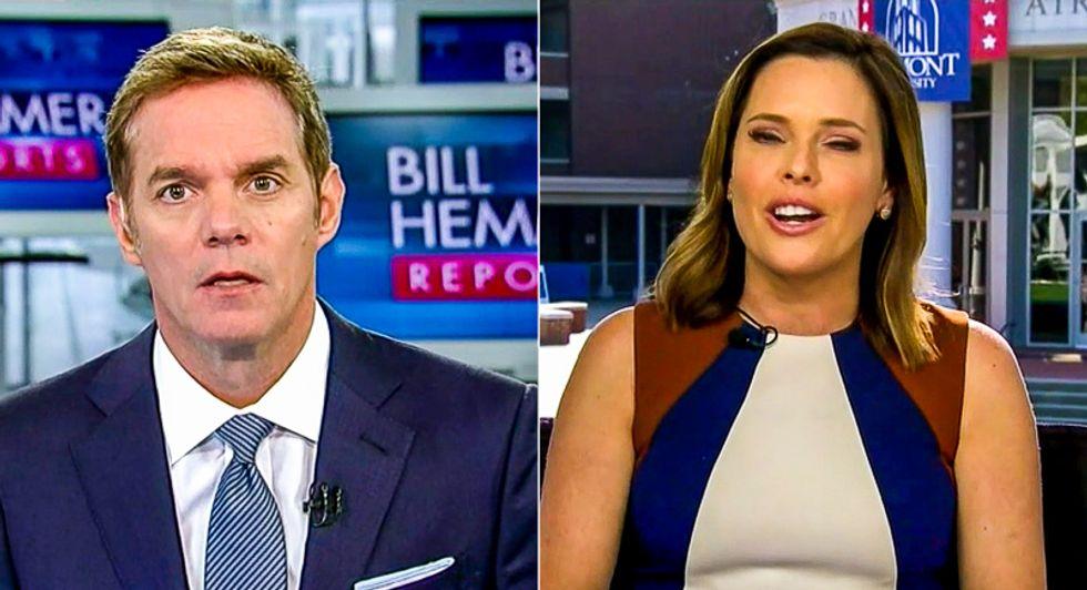 Fox News host interrupts Trump adviser for attacking Kristen Welker: 'She's a reporter, not an activist'
