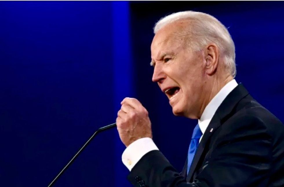 Trump attacks rival over son Hunter -- but Biden holds steady