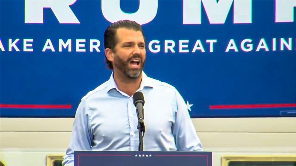 Donald Trump Jr.: Biden already had a chance to 'fix' racism because Obama is Black