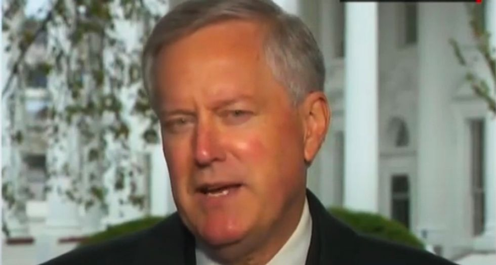 'We are not going to control the pandemic': Trump aide Meadows makes confession during CNN interview