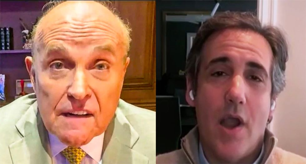 'Rudy is just a moron': Ex-Trump lawyer Cohen drops the mic on Giuliani's very bad week
