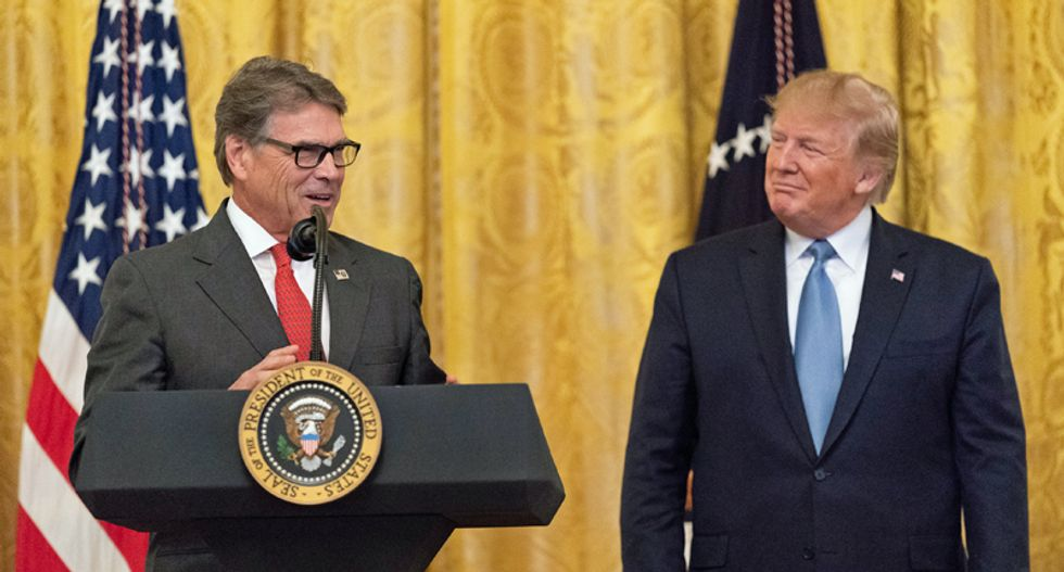 Rick Perry argues 'Texas is not a battleground state' — after Dallas Morning News poll shows Biden leading