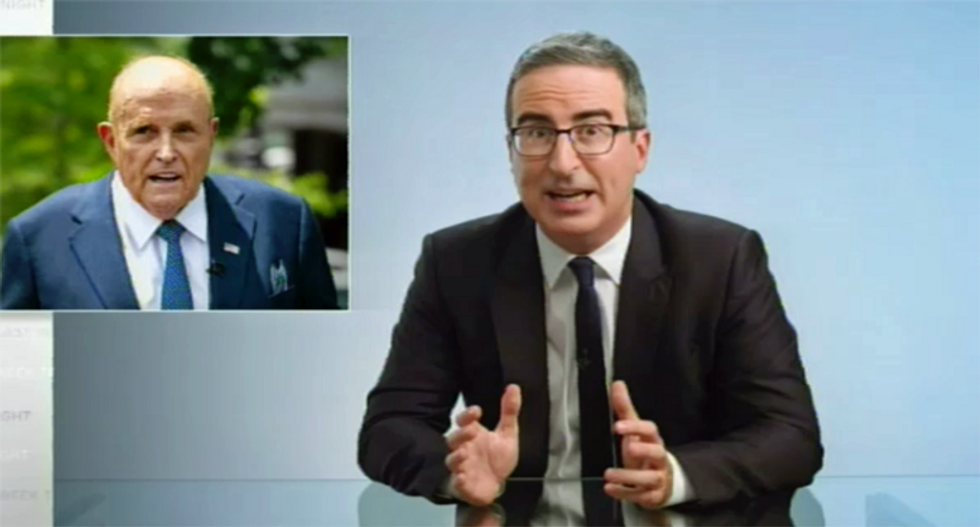 HBO's John Oliver debunks the Hunter Biden conspiracy theory -- with epic dunk on Rudy Giuliani