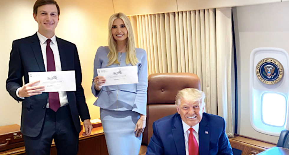 Ivanka Trump and Jared Kushner ripped for mail-in voting tweet: 'This photo is so gross'
