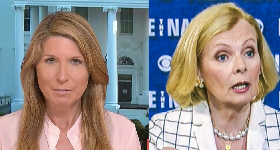 Nicolle Wallace takes down conservative Peggy Noonan's anti-Kamala Harris hit-piece: 'You don't know jack-bleep'