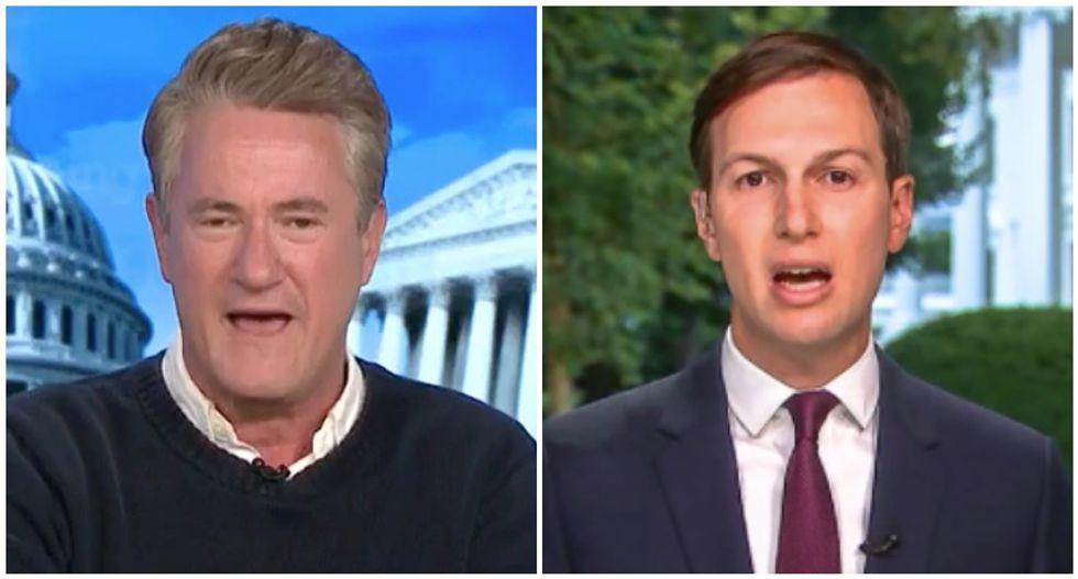 MSNBC's Morning Joe demands producers take down White House whitewash of Jared Kushner's 'racist' remarks