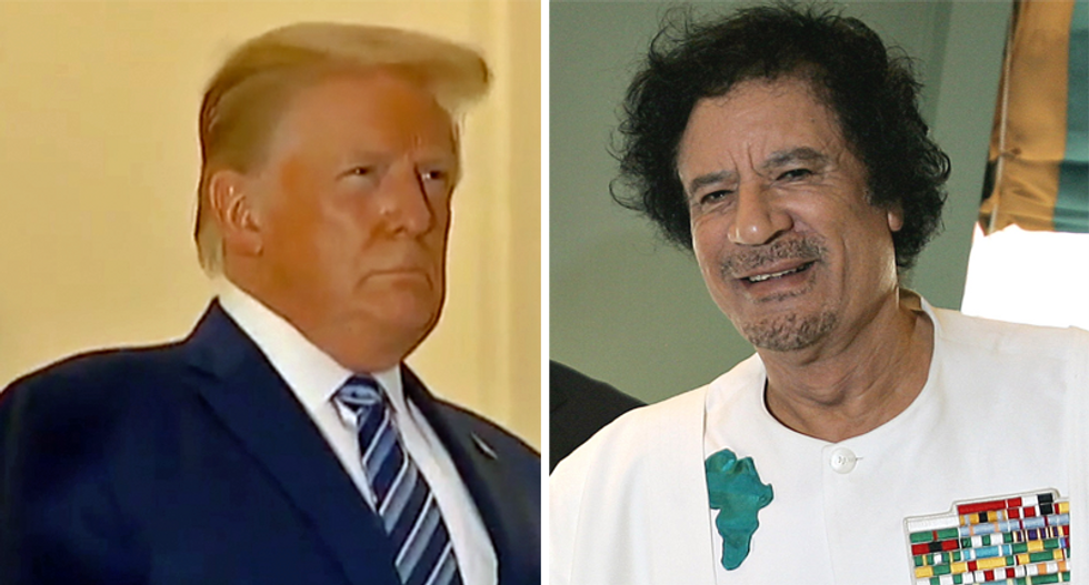 Trump appears to have pocketed $123,000 from Libyan dictator Muammar el-Qaddafi: NYT bombshell