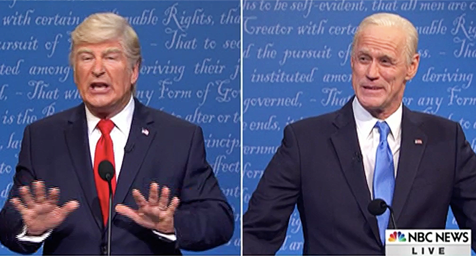 Saturday Night Live's Trump claims his secret COVID-19 plan is 'under audit just like my taxes'