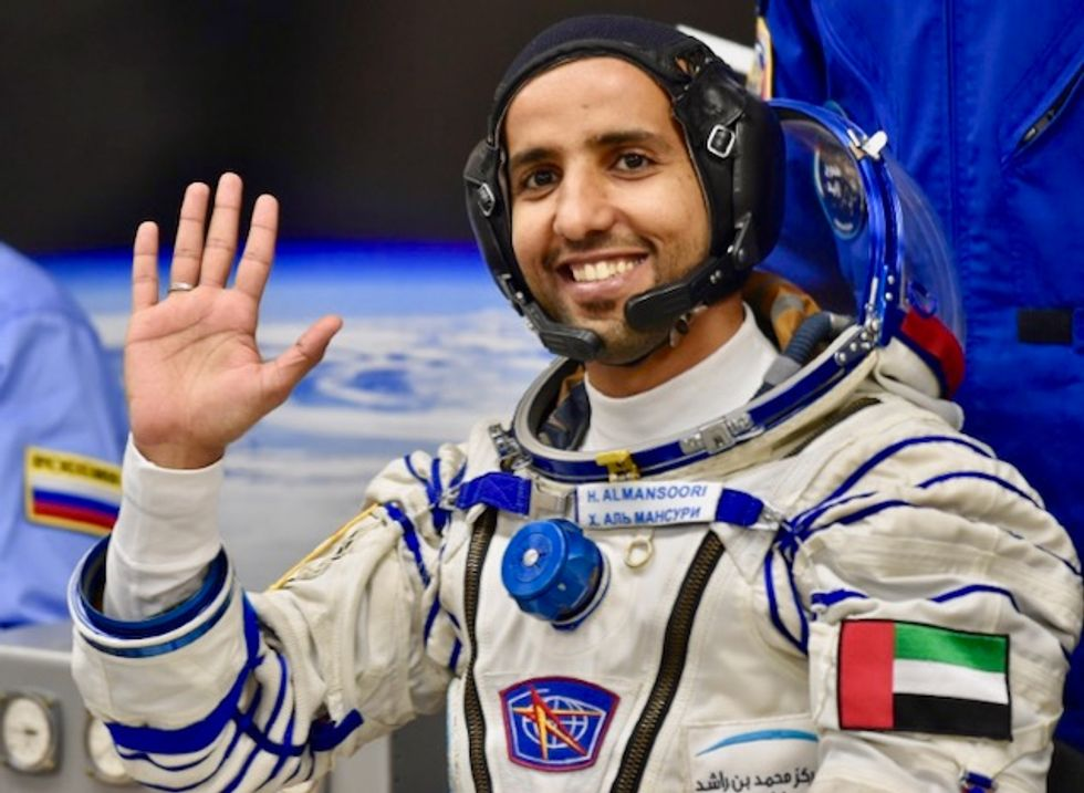 UAE astronaut makes history as first Arab aboard ISS