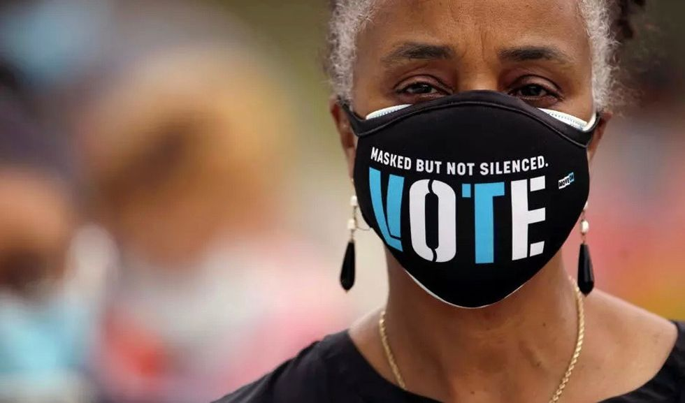 'Our chance to set things right': Here are the best 'get out the vote' messages out there