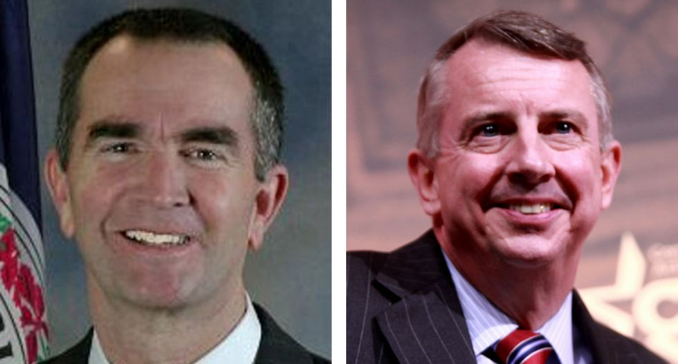 Polls close in highly contentious Virginia governor's race