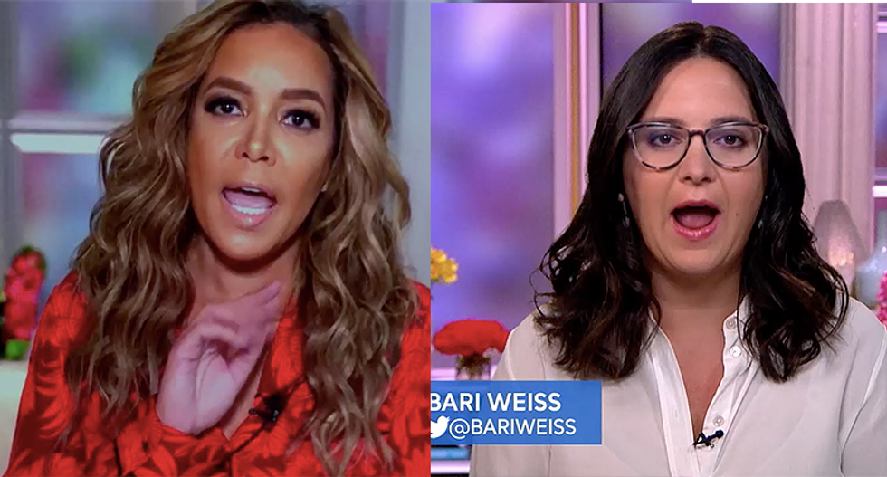 The View co-hosts clash with Bari Weiss after she claims Biden hasn't explained his views on packing the Supreme Court