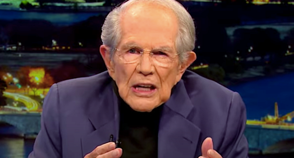 Pat Robertson predicts Trump re-election will usher in apocalypse: 'By all means get out and vote!'