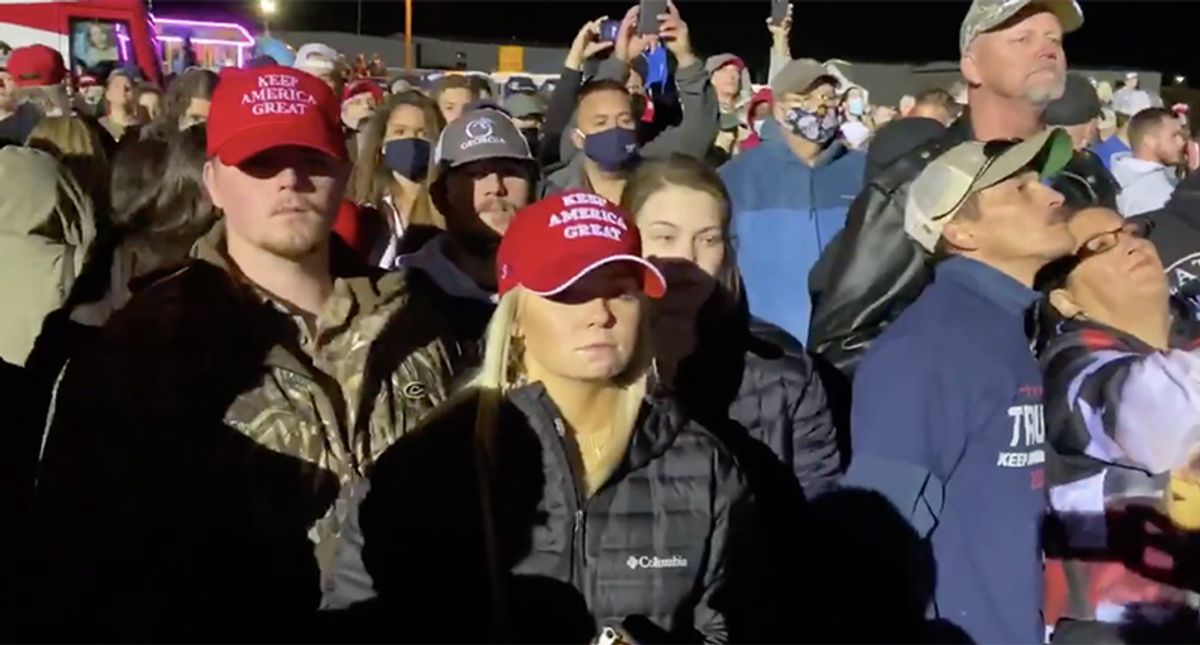 'A horrible feeling': Trump supporters in grieving after they finally realize he's leaving