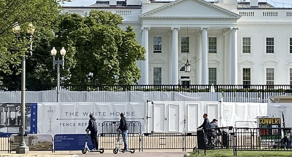 The White House is about to be officially on lockdown with new 'non-scalable' fence: report