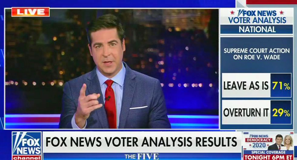 Fox News reports on voter opinions — that reject the Trump message they've been pushing