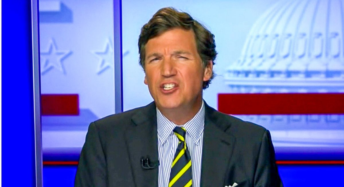 Tucker Carlson says COVID vaccines are 'anti-white' as anti-vaxxers urge folks to refuse them