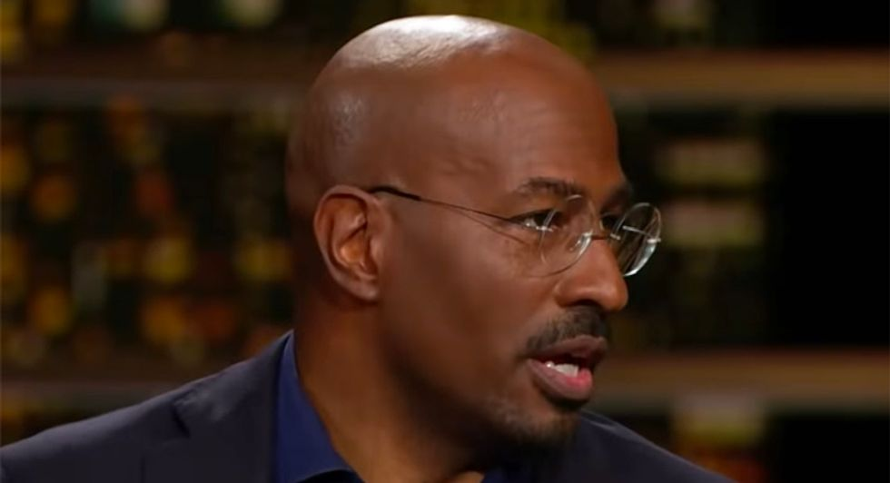 CNN's Van Jones schools HBO 'Real Time' panel on how media should cover Trump now to avoid the mistakes of 2016