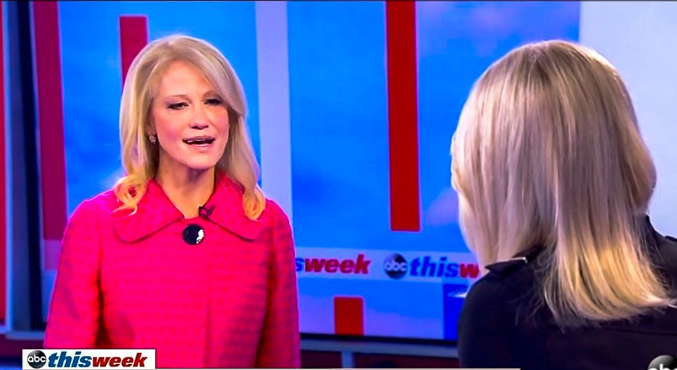 Martha Raddatz rips Kellyanne Conway for doubting Moore accusers: 'You either believe the allegations or not'
