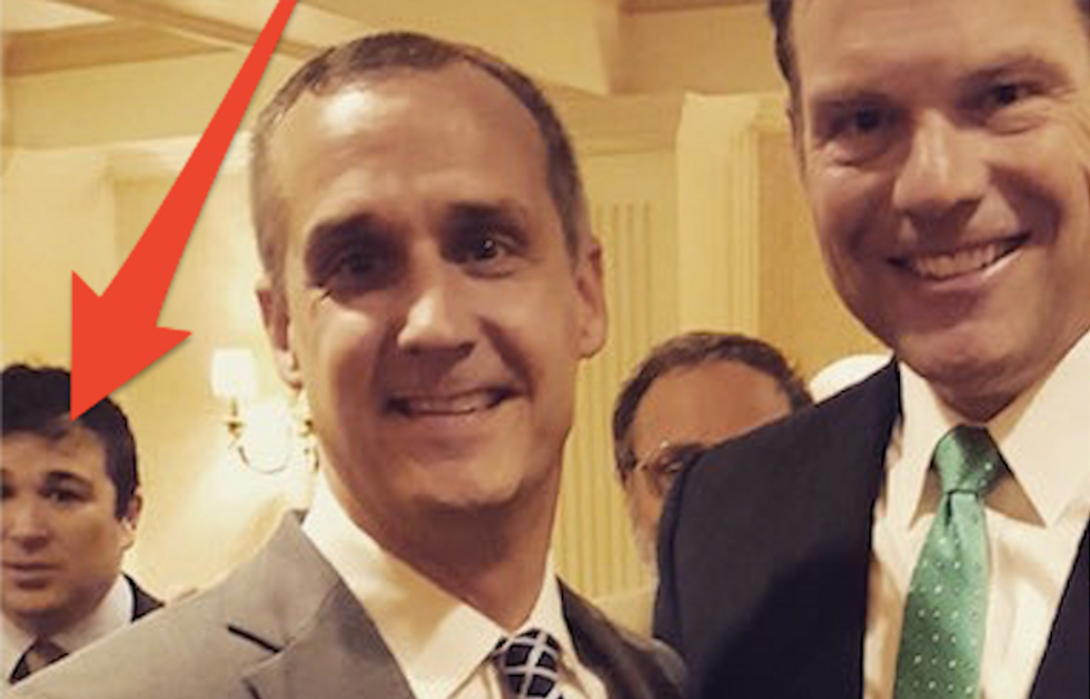 White nationalist who allegedly attacked black woman spotted at Kris Kobach's DC fundraiser