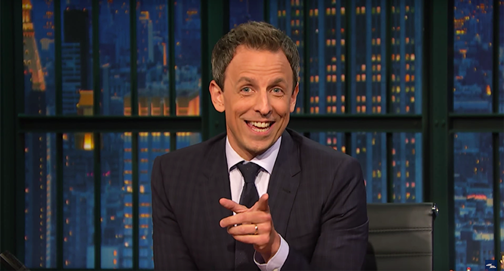 Seth Meyers roasts Trump: The only 3 am phone call he's ready for is one about Rosie O'Donnell