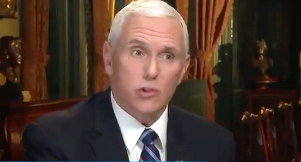 Furious Pence snaps at FBI over rumors they were considering using his staffers to infiltrate Trump's transition team