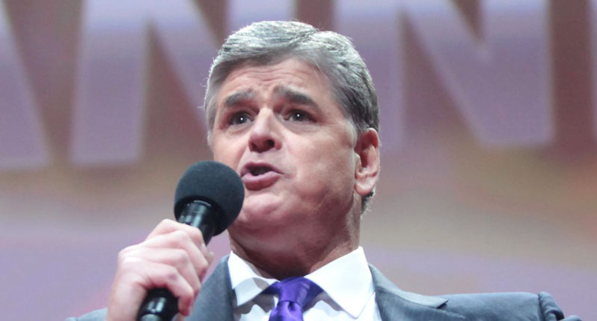 How 'aching' Sean Hannity is the face of Fox News' 'post-Trump identity crisis'