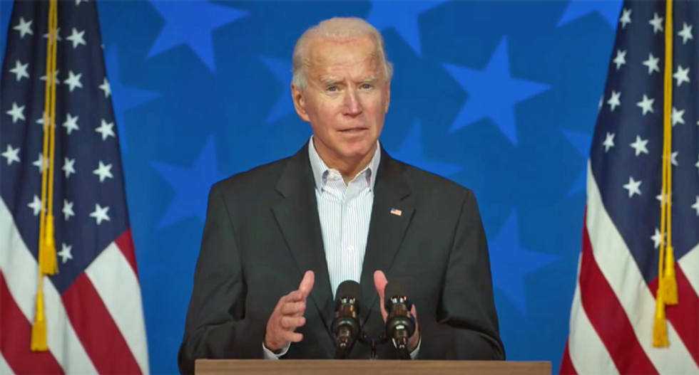 WATCH: Joe Biden addresses the nation with Friday evening election update