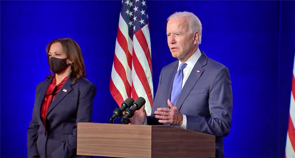 'We rebuilt the Blue Wall': Biden brags about setting the record for most votes won in history