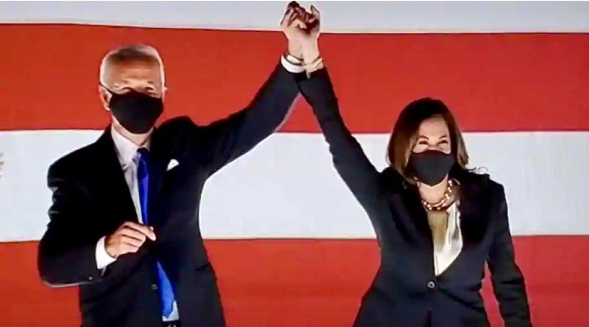 Joe Biden unveils 2 big surprises sending a powerful signal he's pivoting to the left