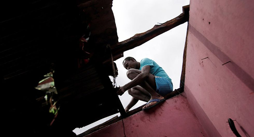 'We have nothing to survive on': Desperation as Haiti toll hits 339 after hurricane Matthew