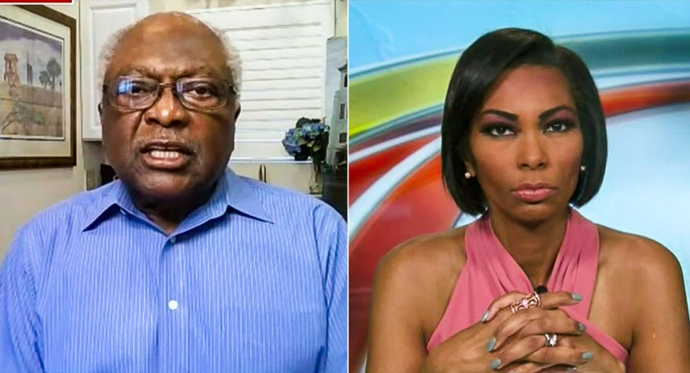 James Clyburn battles Fox News host who wants him to 'thank' Trump voters: '75 million is more than 71 million'