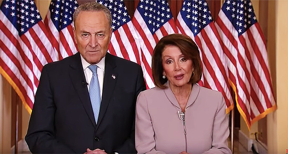 'Cowardly' Trump blasted by Pelosi and Schumer for tear-gassing peaceful protesters: 'Our nation needs real leadership'