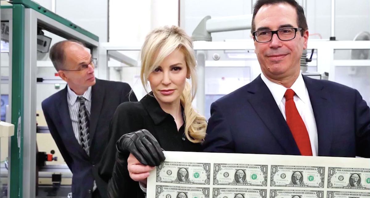 Steven Mnuchin's wife Louise Linton plays a cannibalistic killer in trailer for her weird new film
