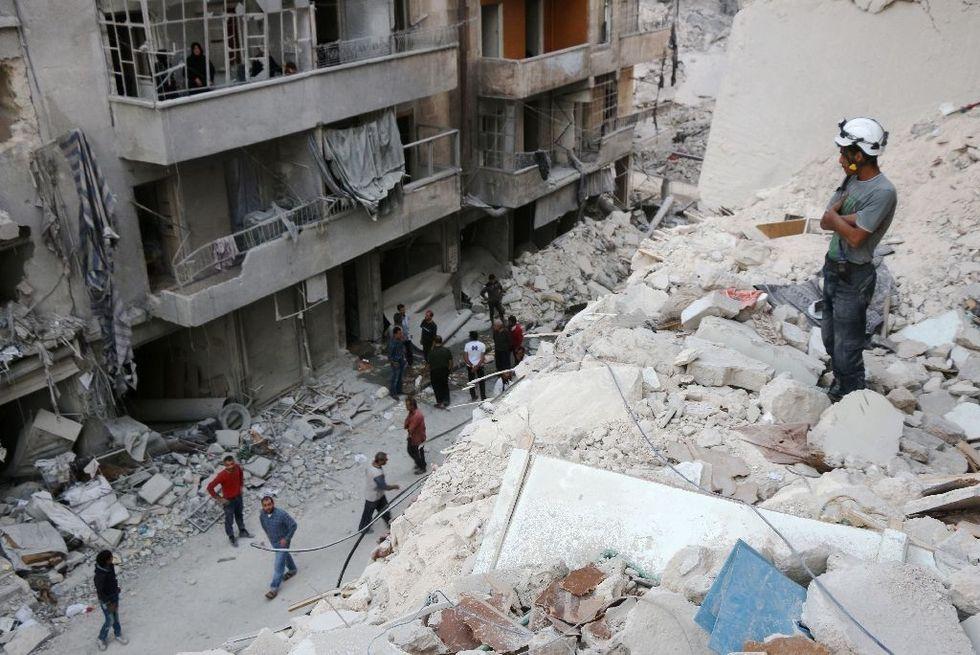 Russia vetoes UN resolution on Aleppo truce