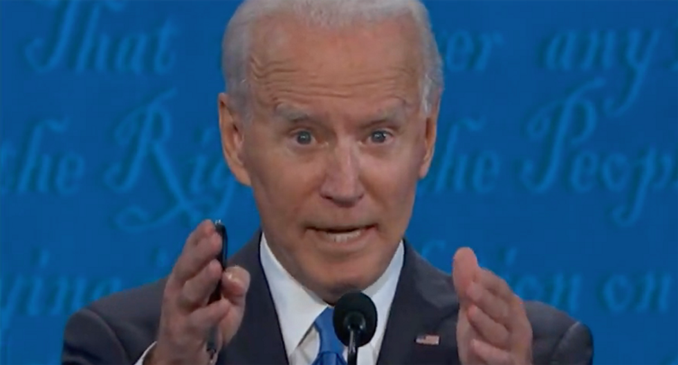 'It's criminal': Biden accuses the Trump administration of crimes during debate