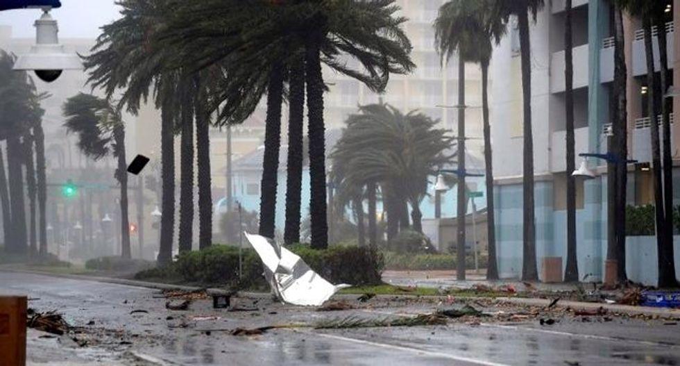 Matthew wallops Florida's Daytona Beach: 'It took our roof right off'