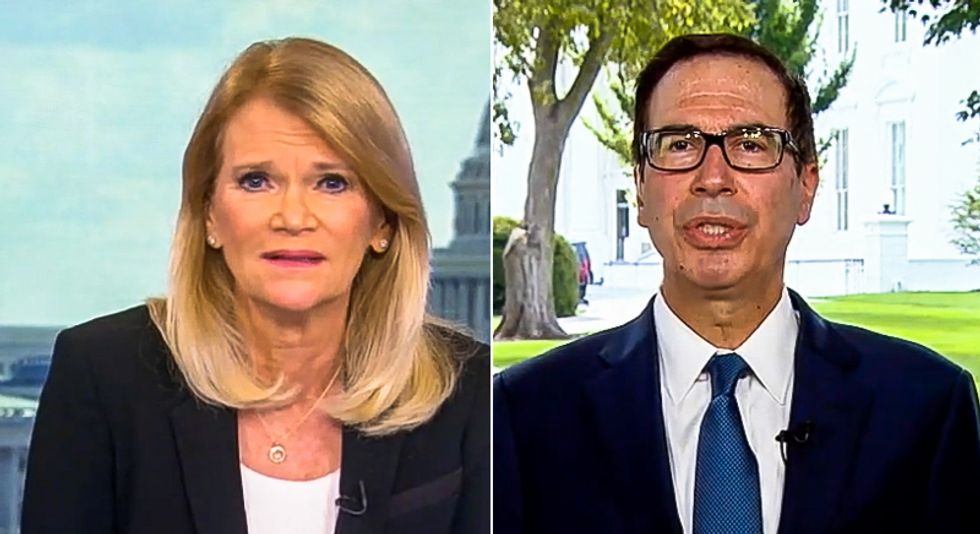 Steve Mnuchin whines about people being 'overpaid' on unemployment: 'There's no question'