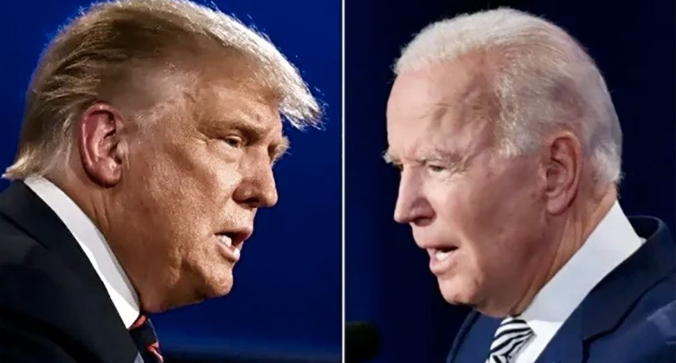 Trump and Biden ads on Facebook and Instagram focus on rallying the base