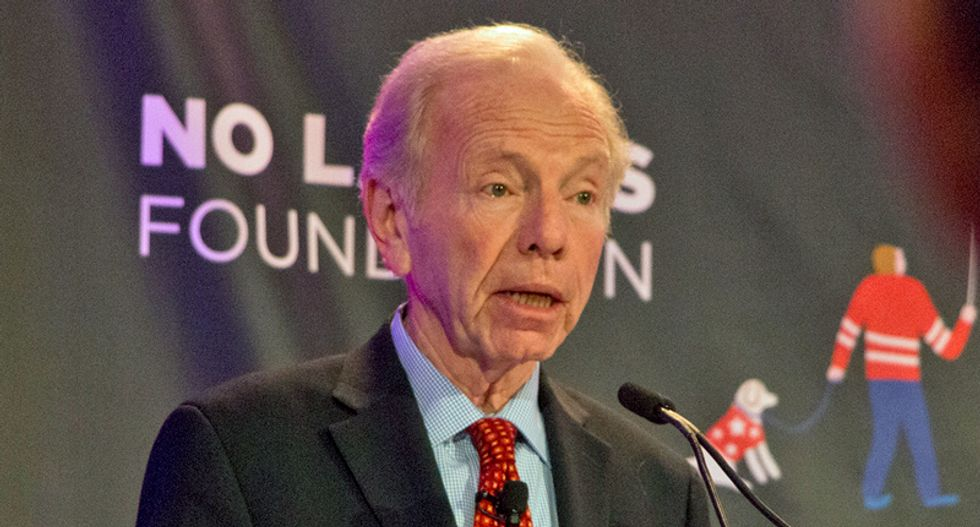 BUSTED: Joe Lieberman lobbying for Chinese company he warned was 'a real threat to our national security'