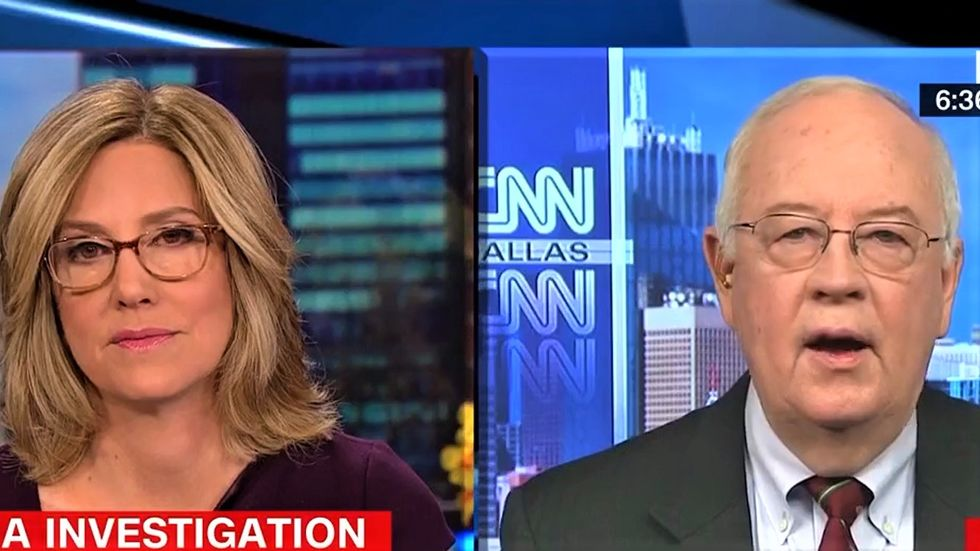 CNN's Alisyn Camerota squashes Ken Starr's flimsy excuses for Trump's shady Russia dealings