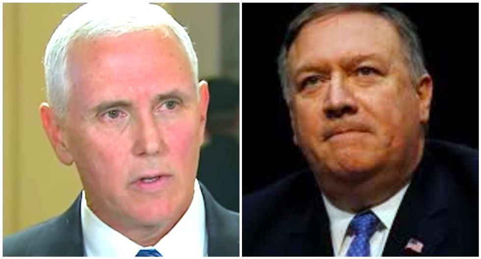Mike Pence and Mike Pompeo belong to a doomsday cult -- and may be trying to bring on the apocalypse