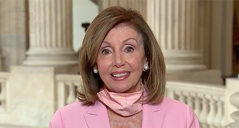 Pelosi 'going for the jugular' as Republicans fight among themselves over COVID-19 aid: report
