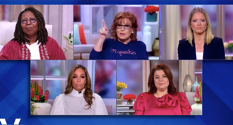 The View hosts say the White House can't even put a message together on COVID-19 — much less fight it